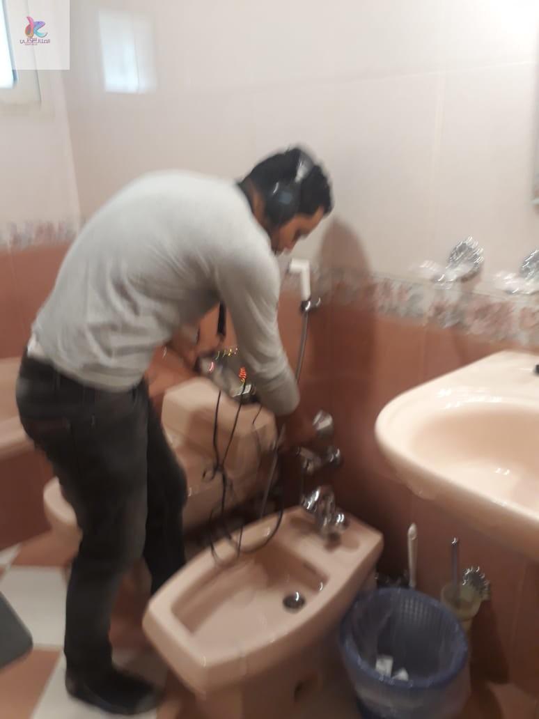 شركة كشف تسربات المياه بالقطيف  الفحص الكامل بالجهاذ الالكترواني والصيانة