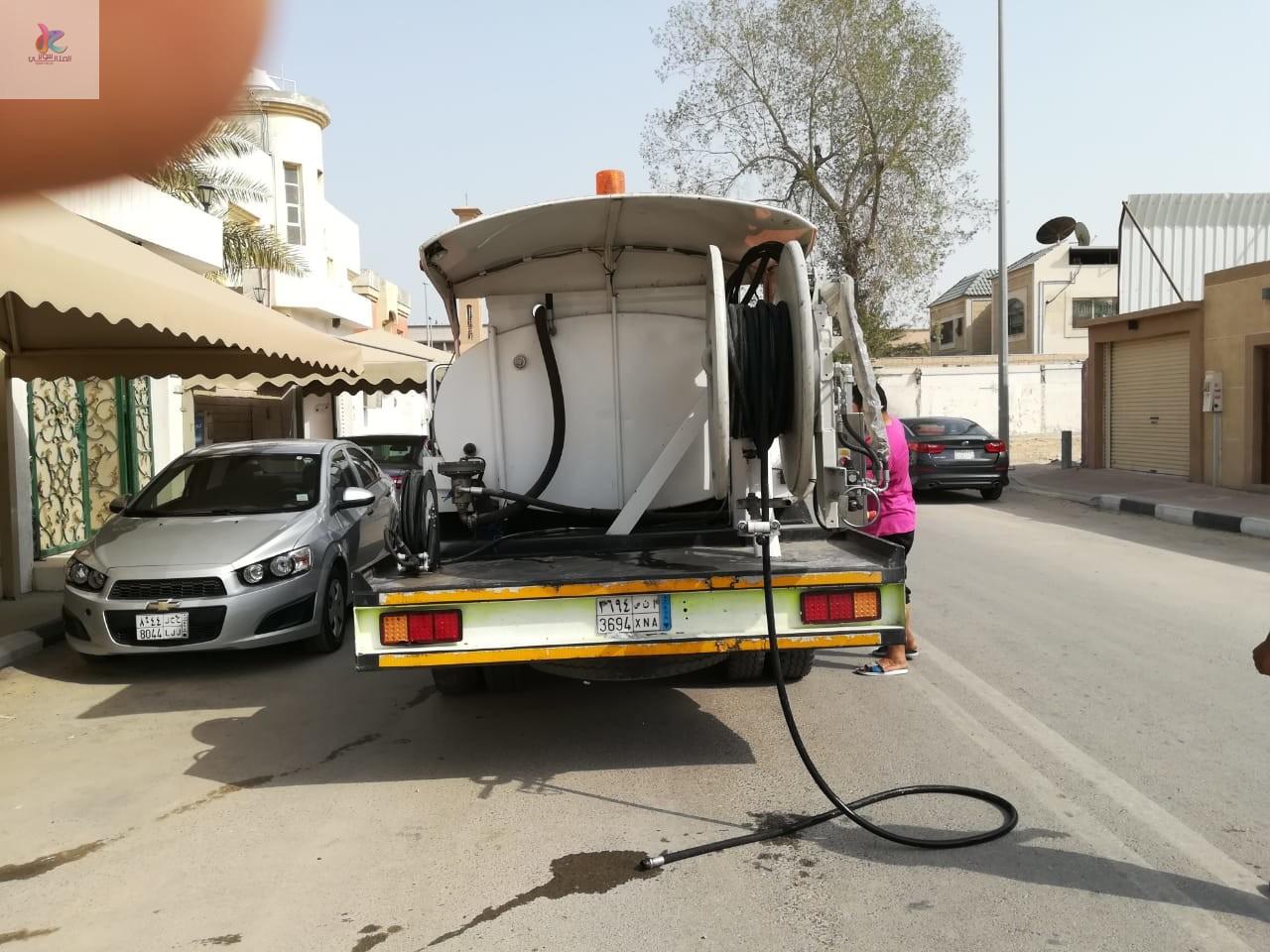 شركة تسليك مجارى بالدمام  بالاجهزة الحديثة سيارة تسليك المجاري
