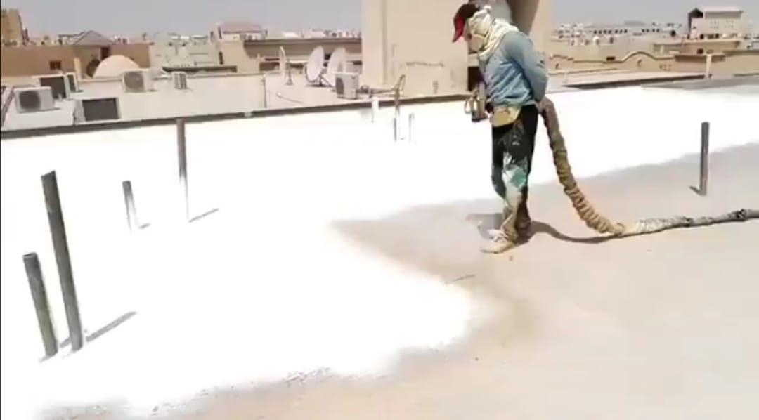 شركة عزل الاسطح بالخبر  شركة المثالي سوبر المتخصصة في عزل الاسطح والحمامات